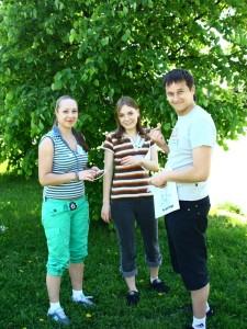 Хомячки: Настя, Криста, Серега-Ёж. Остальные засветятся позже.