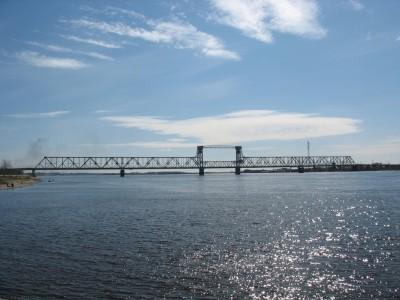 Архангельский мост через Северную Двину
