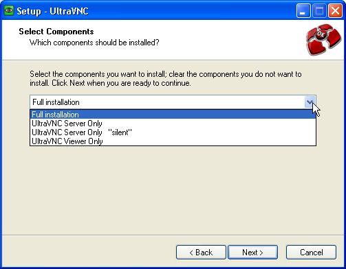 Настройка UltraVNC 1