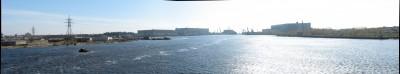 Вот такая вот панорамка внутренних вод Севмаша и Звёздочки