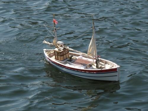 Рыболовецкая лодка, та же что и на предыдущей фотографии.
