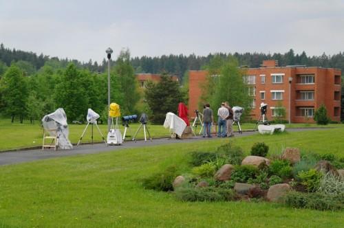 Астрофест-2010 Защищаются кто чем
