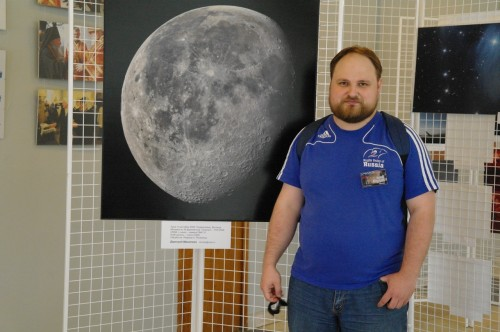 Астрофест-2010 Я и мегафотография Луны