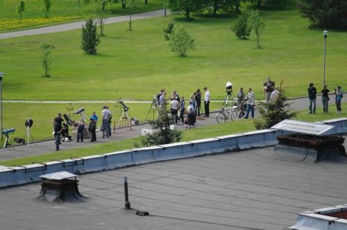 Астрофест-2010 Много телескопов