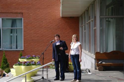 Астрофест 2010 Организаторы - Андрей и Лена