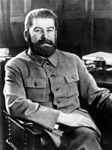 Бородатый Сталин