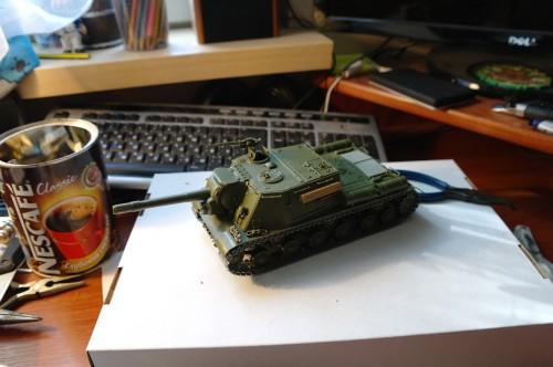 ИСУ-152 от Звезды
