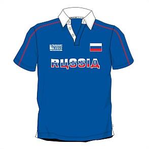 Официальное поло сборной России по регби на кубке мира 2011