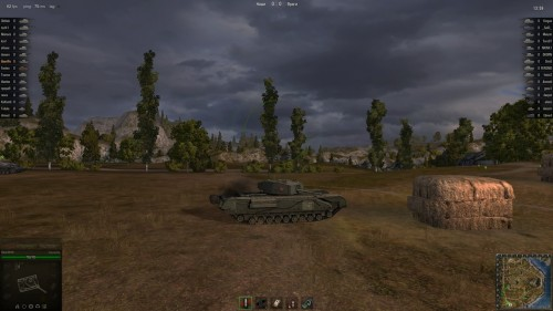 World of Tanks Churchill Черчилль
