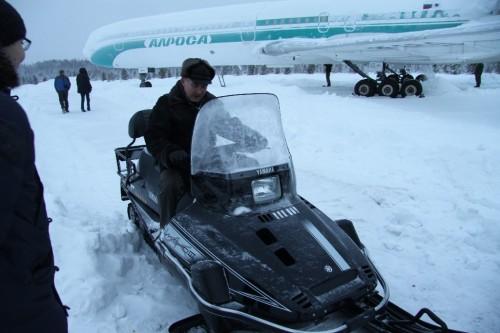 Сергею Михайловичу Сотникову подарили снегоход