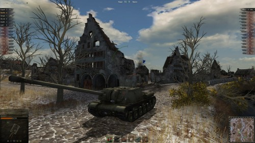 World of Tanks ИСУ-152