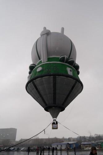 2011-04-12 Vostok Baloon Moscow Аэростат Восток в Москве