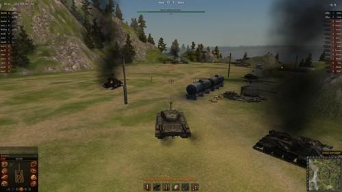 World of Tanks T32 закритованный по полной