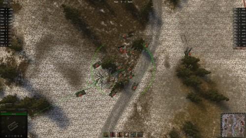 World of Tanks Рота КВ вид сверху
