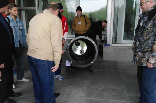 АстроФест 2011 зеркало18-дюймового добсона