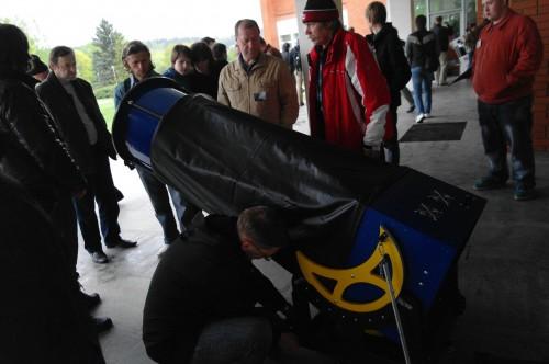 АстроФест 2011 самодельный 18-дюймовый добсон