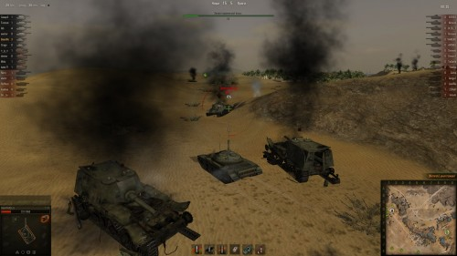 World of Tanks Т-54 глобальная карта песчанная река