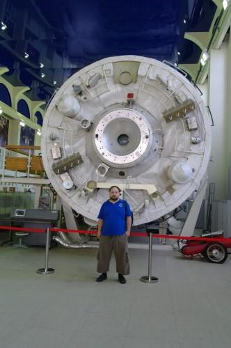 Центр Подготовки Космонавтов Торец модуля ЗВЕЗДА