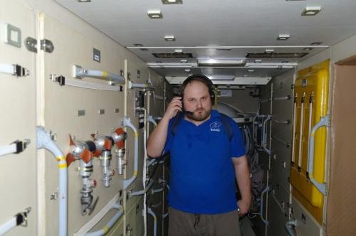 Центр Подготовки Космонавтов Внутри модуля ЗАРЯ