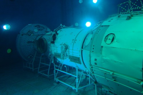 Центр Подготовки Космонавтов гидролаборатория макет МКС