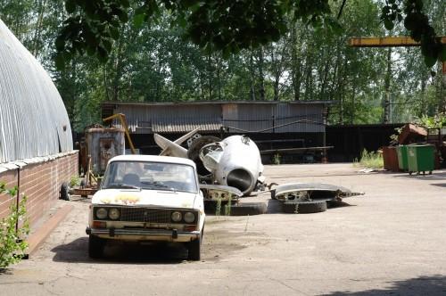Центр Подготовки Космонавтов распиленный Миг-15 или МиГ-17
