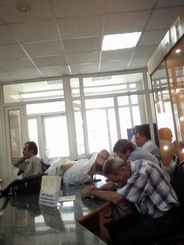 РОСТЕСТ-Москва 2011.07.26 зал приёмки в поверку