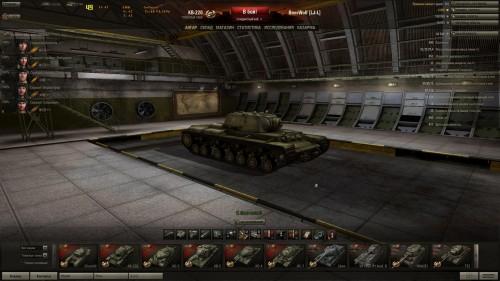 World of Tanks КВ-220