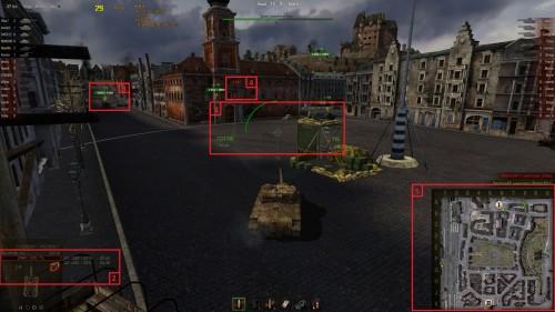 Улучшение интерфейса в world of tanks