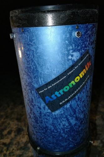 Изморозь на телескопе