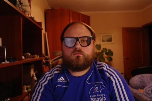 BeerWolf в защитных очках