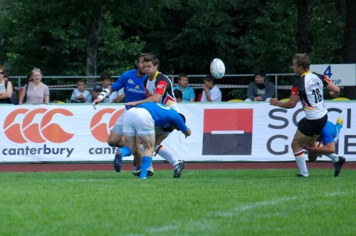 GPS RUGBY SEVENS 2012 MOSCOW Italy - Germany