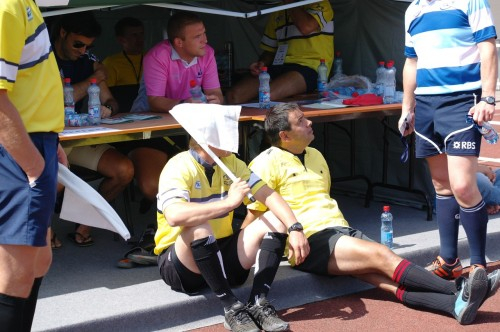 GPS RUGBY SEVENS 2012 MOSCOW Judges