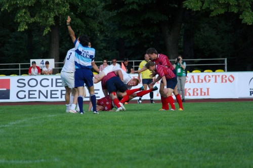 GPS RUGBY SEVENS 2012 MOSCOW England - Russia