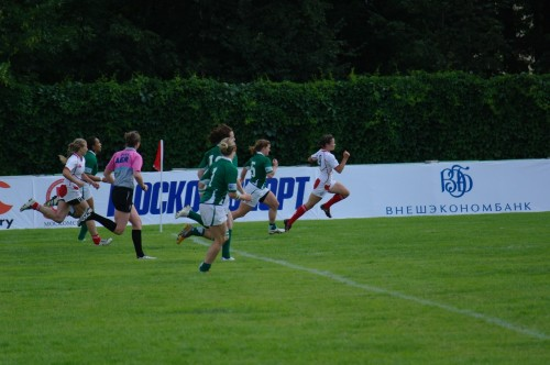 WRWC Sevens 2013 Final Qualifier Moscow 2012 Russia - Ireland