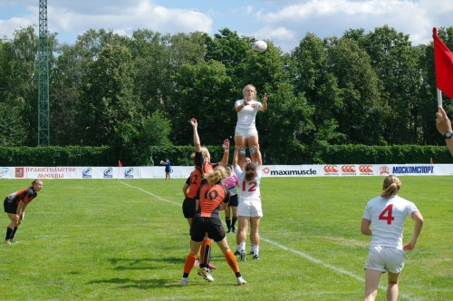 WRWC Sevens 2013 Final Qualifier Moscow 2012 Netherlands - France