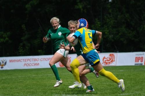 WRWC Sevens 2013 Final Qualifier Moscow 2012 Ukraine- Ireland