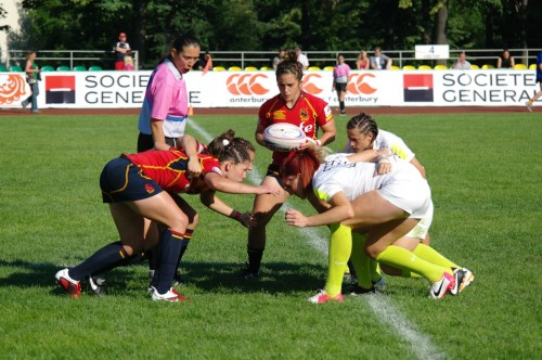WRWC Sevens 2013 Final Qualifier Moscow 2012 England - Spain