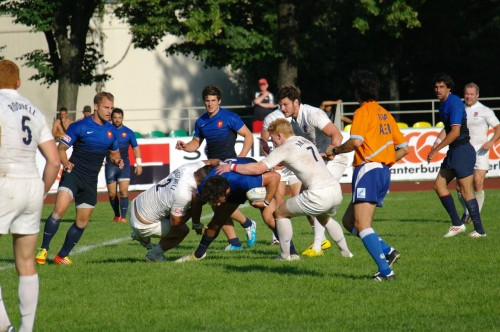 GPS RUGBY SEVENS 2012 MOSCOW 2012 England - France