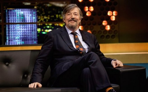 Stephen Fry with beard