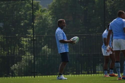 Один из членов тренерского штаба сборной Фиджи. Борода!