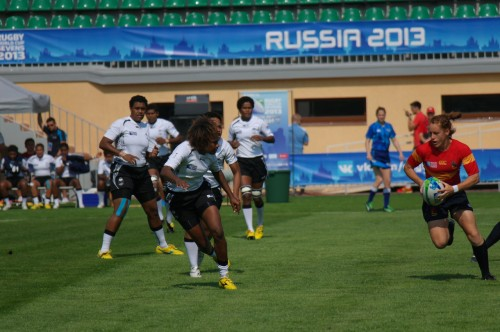 Испания - Фиджи. Первая ничья на Кубке 14 - 14