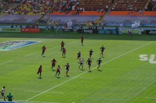 Кения - Франция. Четвертьфинал. Кенийцы вообще приятно удивили, хотел видеть их в финале.