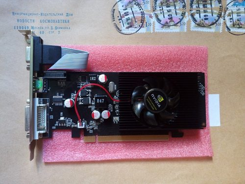 GEARBEST GeForce GT610 1024MB DDR2 64Bit PCI Express X16 Graphic Card  -  BLACK 170315701 HDMI / VGA / DVI Connectivity